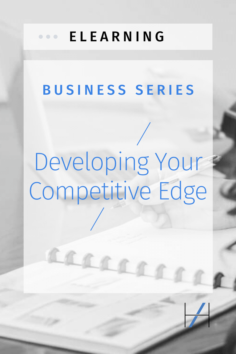 eLearning business series: Developing Your Competitive Edge
