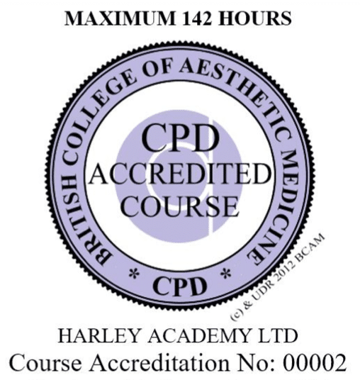 BCAM accredited cosmetic training course