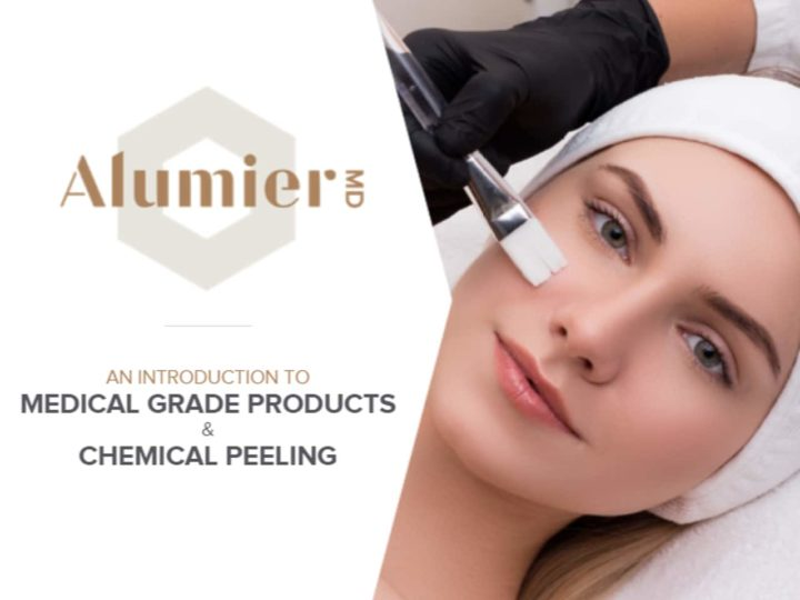 Free AlumierMD Module: Medical Grade Products & Chemical Peeling