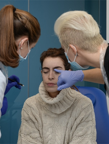 Learning injectables training botox dermal fillers courses Harley Academy
