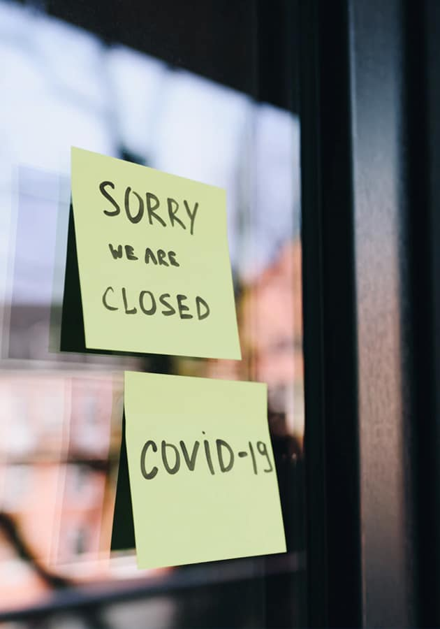Aesthetics practice closed due to the COVID-19 lockdown