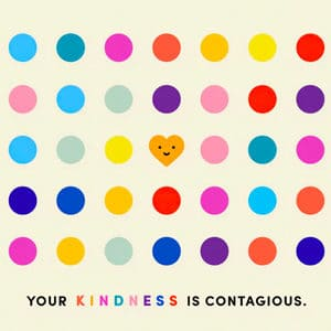 medical charities - kindness is contagious