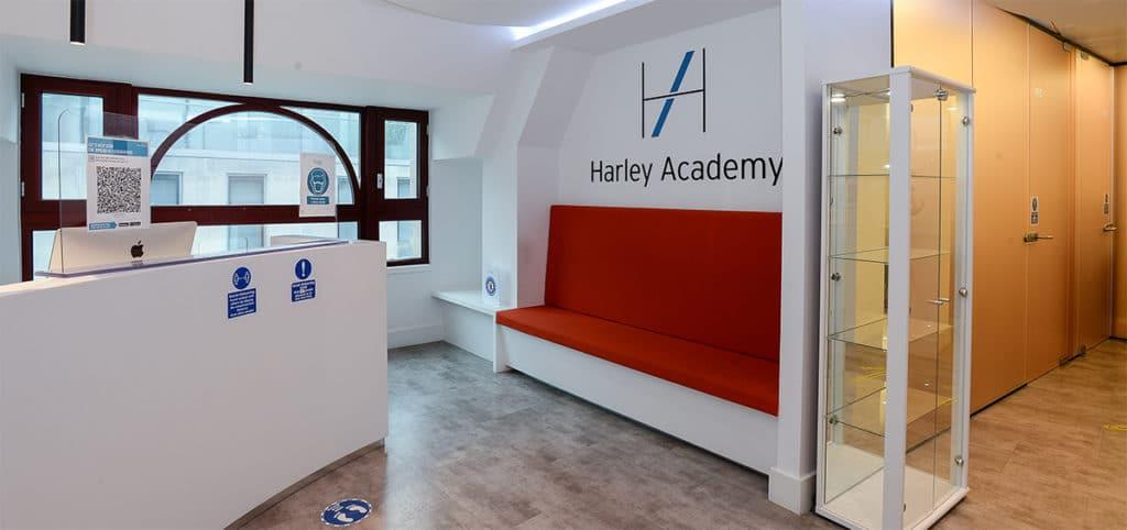 marketing photo of premises aesthetics clinic Harley Academy aesthetic medicine training courses