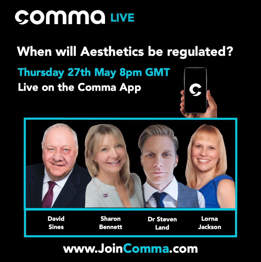 COMMA JCCP UK Aesthetics Industry Regulatory Debate