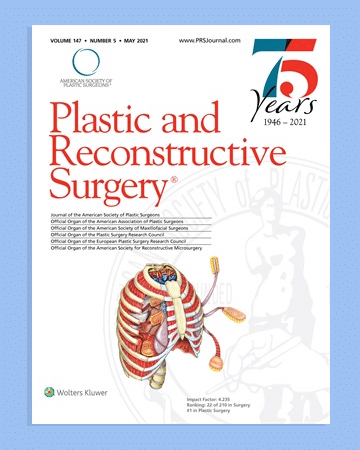 Plastic and Reconstructive Surgery Journal May 2021 Issue