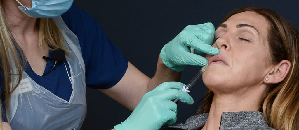 Approach to Injecting Filler - Injectables - Harley Academy Aesthetic Medicine Training Courses