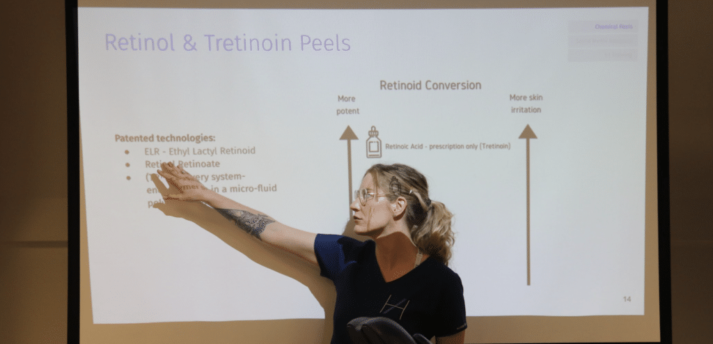 Maja - Cosmetic Dermatology Training - Retinol Peels - Harley Academy Aesthetics Training Courses