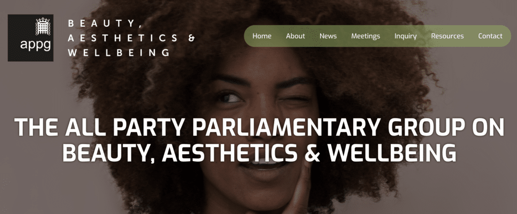 APPG Aesthetics Inquiry recommendations Summer 2021 - Cosmetic Injectables Regulation - Harley Academy Aesthetic Medicine Training Courses Level 7 Qualification
