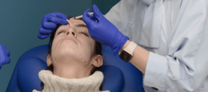 Treating Forehead Lines botulinum toxin training aesthetic medicine courses Harley Academy Level 7 injectables