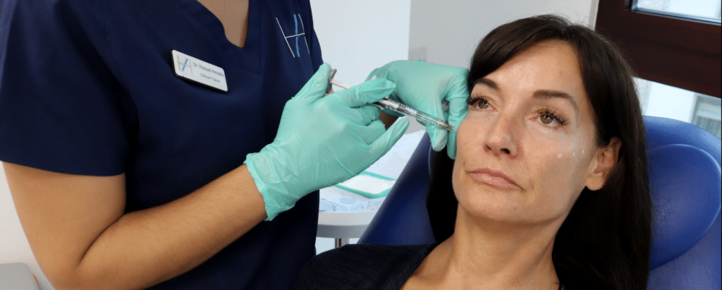 Cheek treatment injectables facial ageing Harley Academy aesthetic medicine training courses Level 7 Diploma